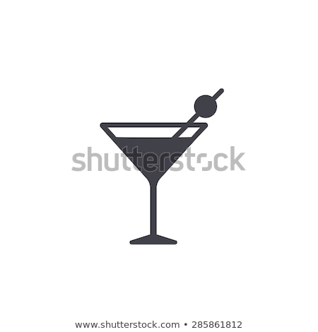 Vidrio martini beber fiesta luz fondo Foto stock © shutswis