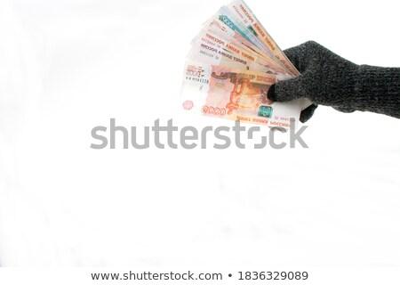 женщину · евро · белый · деньги - Сток-фото © wavebreak_media