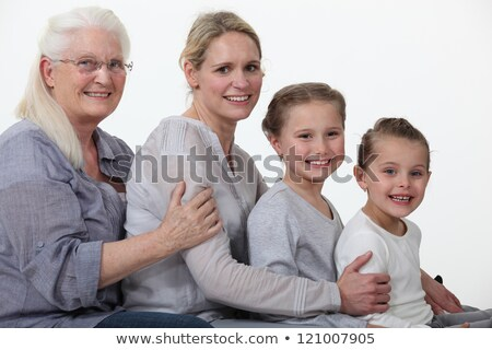 young and older female foursome Stock photo © photography33