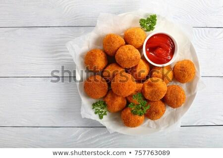 potato ball Stock photo © M-studio