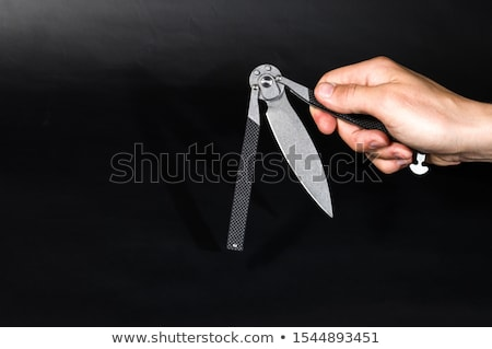 Wielding a Knife Stock photo © ArenaCreative