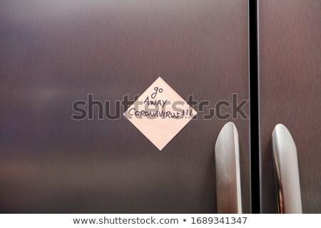冷蔵庫 現代 表示 コントロールパネル オプション ストックフォト © ABBPhoto