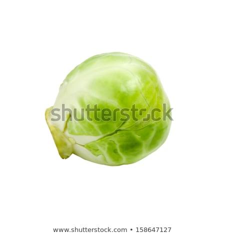 Brüksel taze ekolojik beyaz gıda Stok fotoğraf © artlens