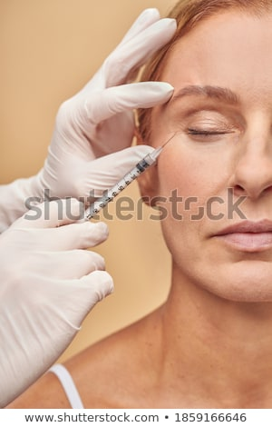 Beauty injection. Vertical shot. Stock photo © moses