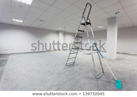 Lege interieur gebouw bouw muur Stockfoto © Hofmeester