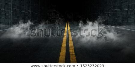 道路 スポットライト 青空 空 背景 ストックフォト © smuay