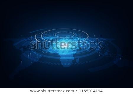 Best internet wereldwijde business wereldbol abstract Stockfoto © oly5