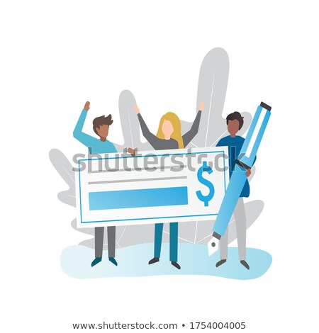 We won the million dollar contract! Stock photo © stockyimages