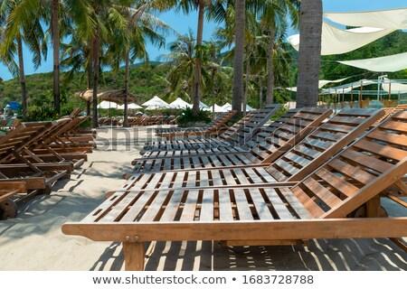 boş · plaj · güneş · tropikal · plaj · deniz - stok fotoğraf © backyardproductions