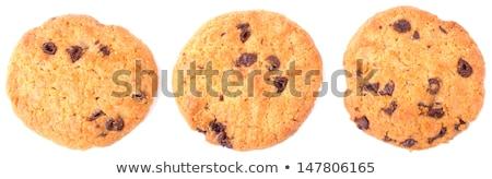 Chocolate homemade pastry cookies Stock photo © natika