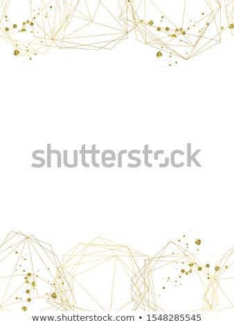 石 · 三角形 · 実例 · 紙 - ストックフォト © yurkina