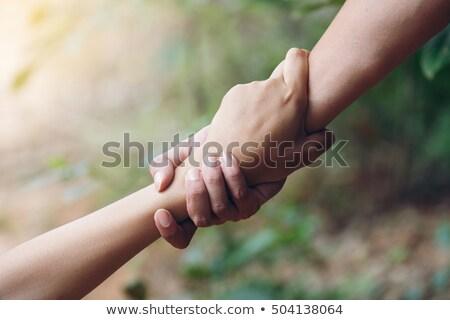 Paar liefde ander sluiten Stockfoto © stryjek