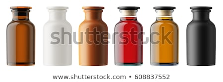 Antigo garrafas colorido isolado branco água Foto stock © gavran333