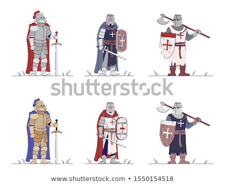 crusader set stock photo © sharpner