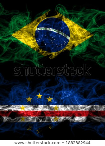 Brazil and Cabo Verde Flags Stock photo © Istanbul2009