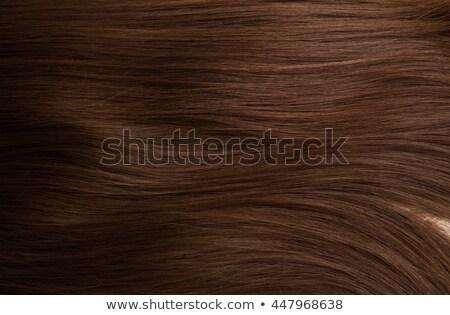 Human Hair texture background Stock photo © ozaiachin