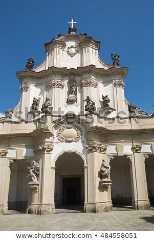 修道院 チェコ共和国 アーキテクチャ 歴史 屋外 外 ストックフォト © phbcz