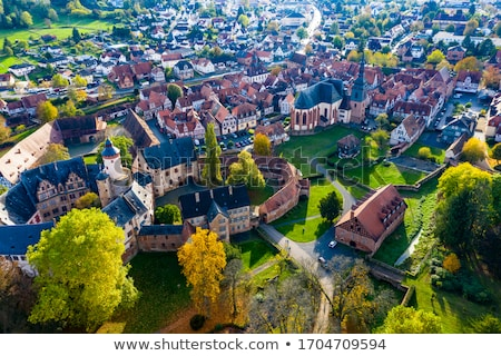 Stock photo: old castle in medieval city of Buedingen