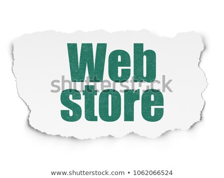 opslag · gescheurd · papier · woord · achter · gescheurd · pakpapier - stockfoto © ivelin