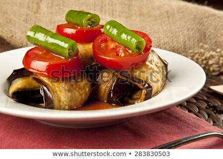 ızgara · kabak · hazırlık · gıda · restoran - stok fotoğraf © digifoodstock