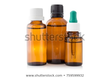 A brown medicinal tube Stock photo © bluering
