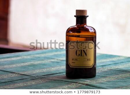 Foto stock: Roxo · médico · garrafa · ilustração · branco · gráfico