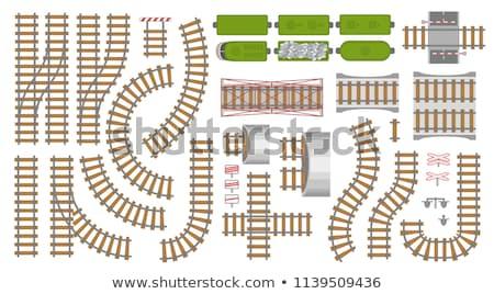 駅 計画 表示 背景 都市 ストックフォト © OleksandrO