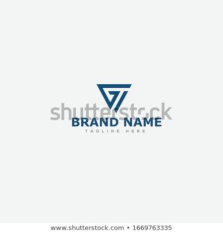 Logotipo texto design de logotipo internet moda projeto Foto stock © sdCrea