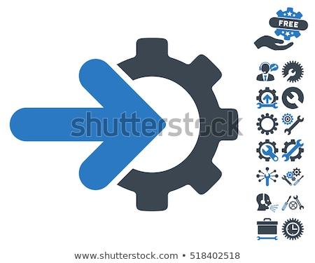 bankbiljet · opties · versnelling · icon · toepassing · web · design - stockfoto © wad