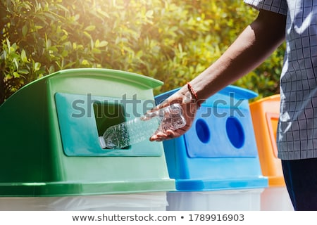 trash recycle bin for garbage Stock photo © Nobilior