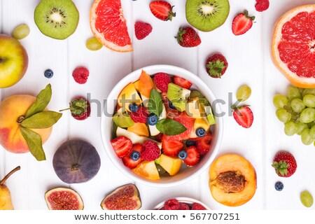 フルーツサラダ スムージー 食品 フルーツ 食べ スイカ ストックフォト © M-studio