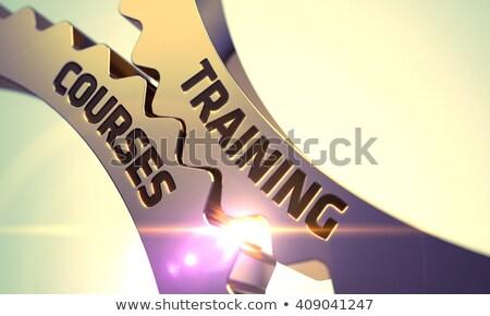 Training Courses on the Golden Gears. Stock photo © tashatuvango