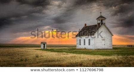 country wood church  Stock photo © wildman
