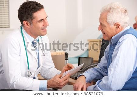 Two smiling male doctors stock photo © Minervastock
