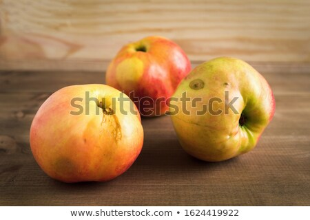 Apple with defect Stock photo © fanfo