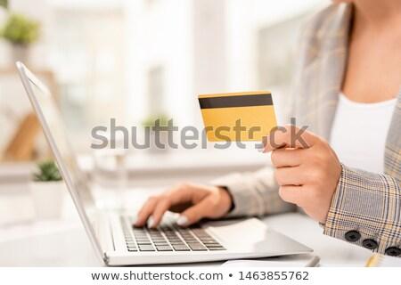 Mano empresario personal datos para Foto stock © pressmaster