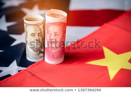 Dollar monnaie lutte Chine États-Unis bancaires Photo stock © Lightsource