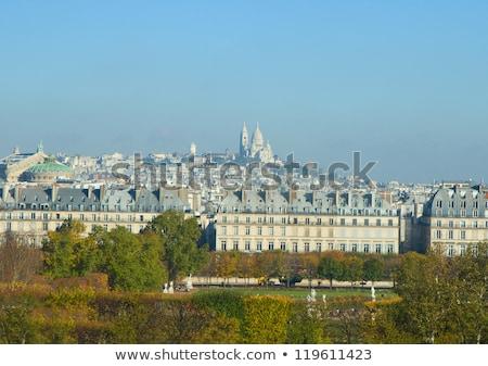 Париж · Skyline · Монмартр · Франция · город · синий - Сток-фото © neirfy