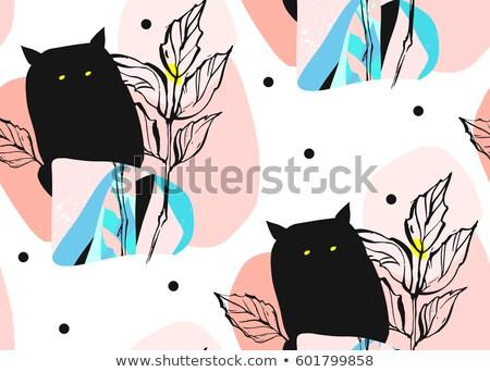 カバー デザイン 手描き 抽象的な 異なる ストックフォト © user_10144511