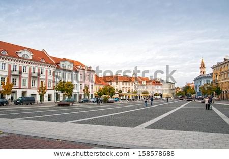 町役場 広場 ヴィルニアス リトアニア 旧市街 建物 ストックフォト © borisb17