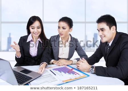 Malaysian business team  Stock photo © szefei
