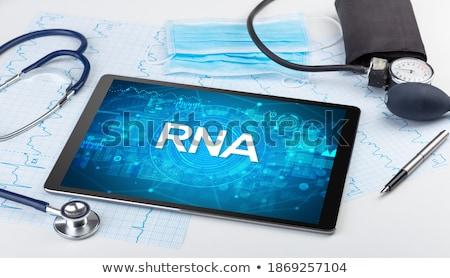 Primer plano vista médicos abreviatura Foto stock © ra2studio