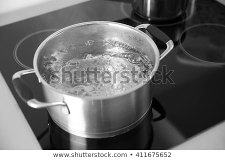 Stock photo: boiling water