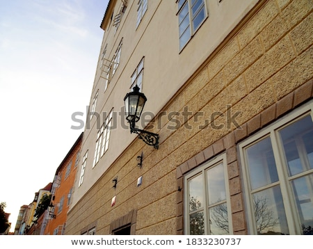church in Nerudova Street, Mala Strana, Prague, Czech Republic Stock photo © phbcz