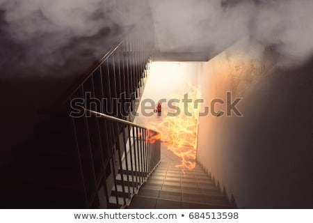 Fire stair Stock photo © lovleah