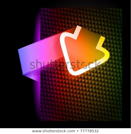 papel · estilo · produto · sombras - foto stock © davidarts