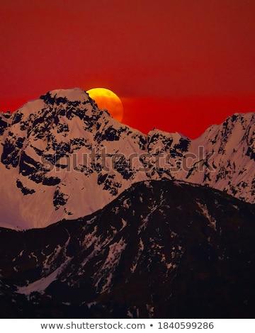 Super Moonrise Stock photo © suerob