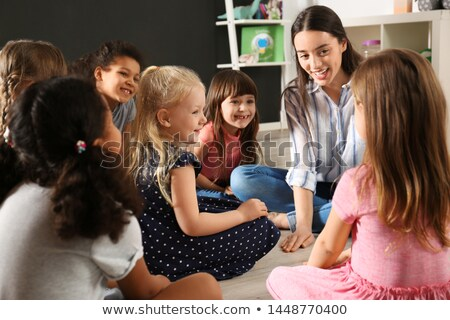 Young girl in classroom Stock photo © photography33