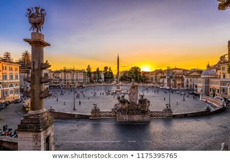 Rome · water · gezicht · kunst · kerk · stedelijke - stockfoto © vladacanon