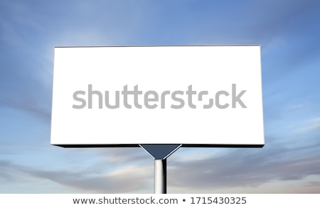 Blank billboard outdoor for advertisment Stock photo © kawing921